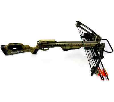 Norman Reedus Signed Horton Brotherhood Camo Full Size Crossbow The Walking Dead