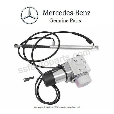 For Mercedes W215 Cl500 Cl65 Amg Vacuum Supply Pump Genuine Remote Trunk Locking