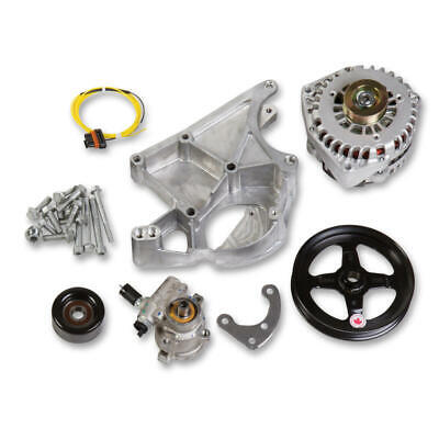 Holley Accessory Component Set 20-143; Alternator, P/s Pump For Chevy Ls-series