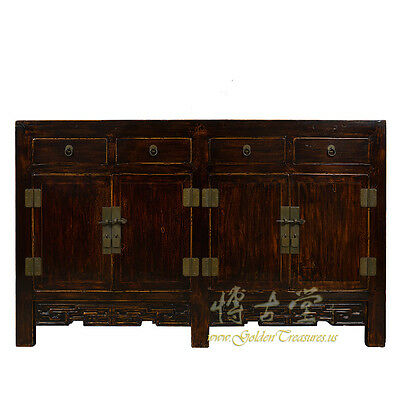 Chinese Antique Twin Cabinet/sideboard/buffet Table 17lp19