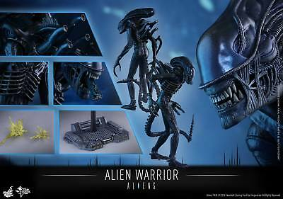 (us) Hot Toys 1/6 Aliens Mms354 Alien Warrior Movier Masterpiece 35cm Figure
