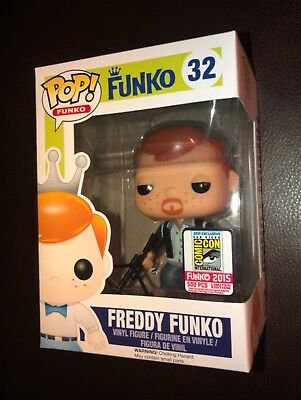 Sdcc 2015 Funko Fundays The Walking Dead Daryl Dixon Freddy Funko Pop 1/500 Rare