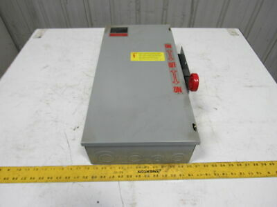 Cutler Hammer Dt363ugk 100a 600vac 250vdc Transfer Double Throw Safety Switch