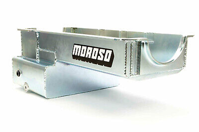 Moroso 20536 R/r Front Sump Oil Pan - Sbf 351w 7qts.