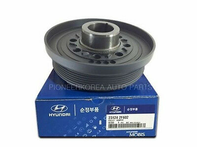 Genuine Damper Pulley 2312423510 For Hyundai Lavita 2001-2005