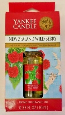 *new* Yankee Candle New Zealand Wild Berry Home Fragrance Oil 0.33 Oz Retired