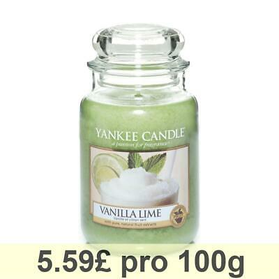 Yankee Candle Classic Large Housewarmer, Vanilla Lime, Scented Candle Room Scent