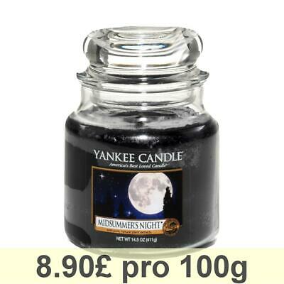 Yankee Candle Classic Housewarmer Medium, Midsummers Night, Scented Candle Scent