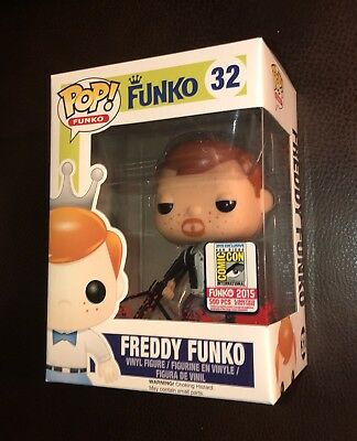 Sdcc 2015 Funko Fundays The Walking Dead Bloody Daryl Dixon Freddy Pop 1/500