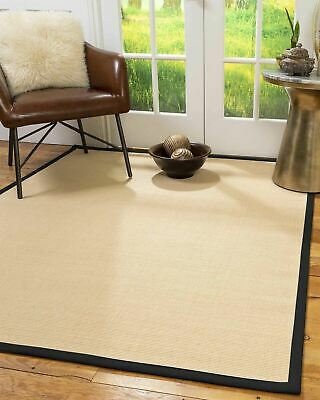 Majesty Wool Sisal Large Non-slip Skid Resistant Area Throw Rug Carpet