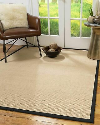 Sonoma Wool Sisal Large Non-slip Skid Resistant Area Throw Rug Carpet