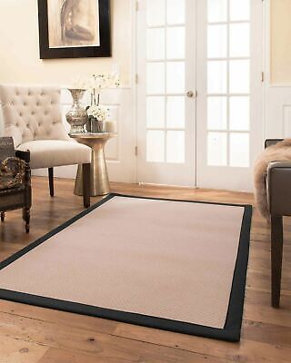 Eloise Wool Large Modern Non-slip Skid Resistant Area Throw Rug Carpet