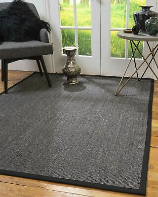 Shadows Sisal Large Modern Non-slip Skid Resistant Area Throw Rug Carpet