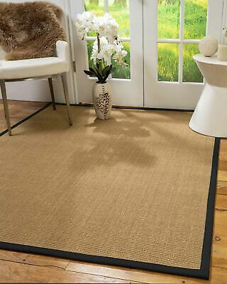 Moda Sisal Large Modern Non-slip Skid Resistant Area Throw Rug Carpet