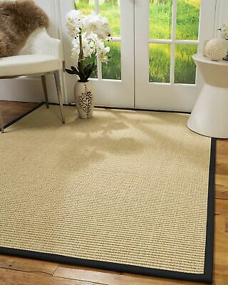 Lucca Sisal Large Modern Non-slip Skid Resistant Area Throw Rug Carpet