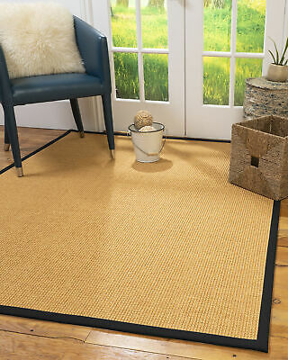 Davlin Sisal Large Modern Non-slip Skid Resistant Area Throw Rug Carpet