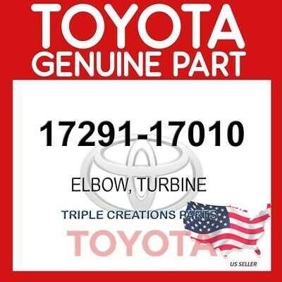 17291-17010 Genuine Oem Toyota Elbow, Turbine 17291-17010