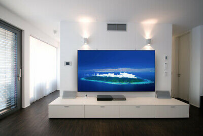 Ultra Short Throw Ust Projector Screen Alr 90″ 100″ 120″ Tv Home Theater