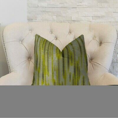 """Plutus Pinceaux Handmade Throw Pillow, (double Sided  12"""" X 20"""")"""