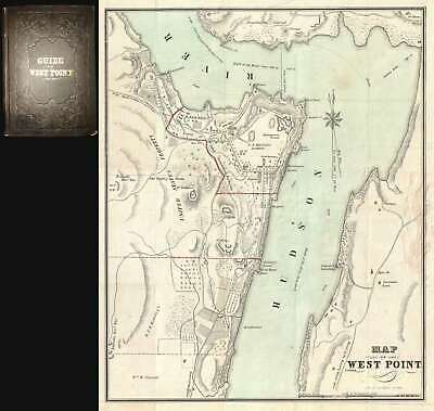 1844 Colton Map Of West Point, New York