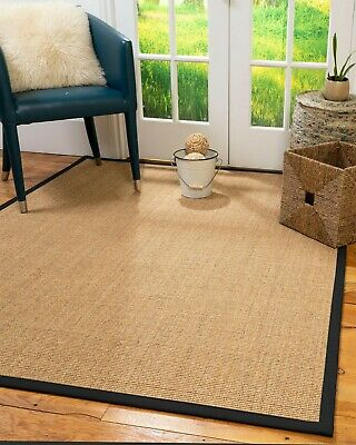 Melrose Sisal Large Modern Non-slip Skid Resistant Area Throw Rug Carpet