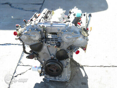 Infiniti G35 03-04 Coupe Engine Motor Long Block Assembly Rwd 173k Mi 3.5l 2003