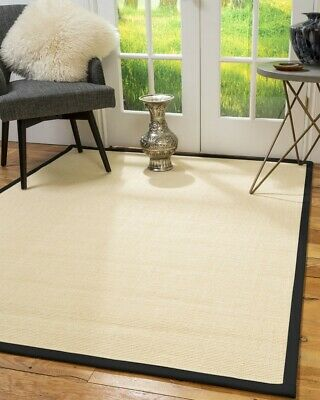 Deco Sisal Large Modern Non-slip Skid Resistant Area Throw Rug Carpet