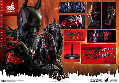 Batman Futura Knight Version Sixth Scale Figure By Hot Toys Video Game 1/6 New