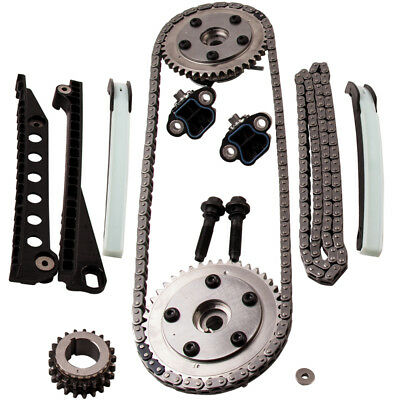 Fit Ford F150 F250 Lincoln 5.4 04-10 Triton 3-valve Timing Chain Kit Cam Phaser