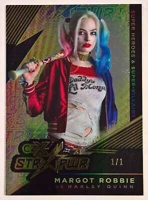2019 Cryptozoic Dc Super Heroes & Villains Czx Str Pwr Harley Quinn 1/1 S09
