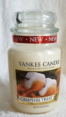 Yankee Candle 22 Oz New Camp Fire Treat