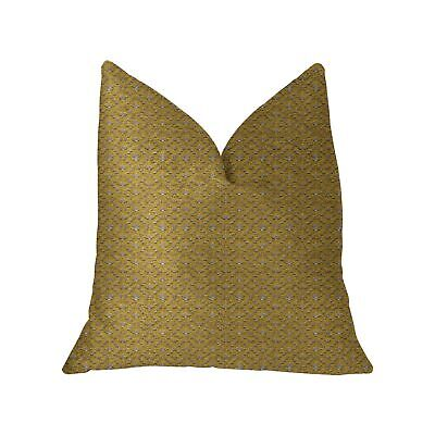 Plutus Goden Cleopatra Gold And Silver Luxury Throw Pillow
