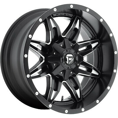 4- 20x10 Black Fuel Lethal 6x135 & 6x5.5 -12 Wheels Open Country Rt  Tires