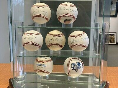Yankee Baseball Autographed Mlb Ball Collection (5 Different)