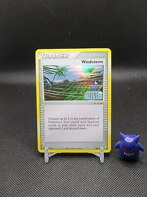 Pokemon - Windstorm 85/100 Reverse Holo Ex Crystal Guardians Nice Card See Pics