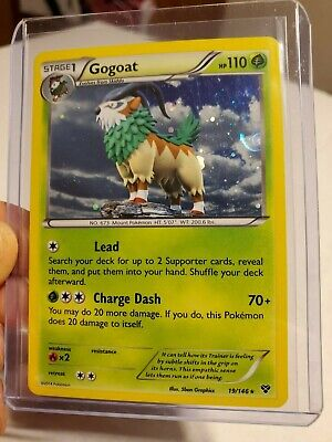 Gogoat XY Base NM/MINT Holo Rare Pokemon Card 19/146