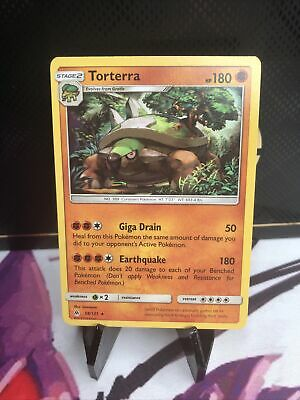 Torterra   58/131 S&M: Forbidden Light  Rare  Mint/NM  Pokemon