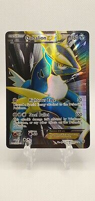 NM FULL ART Pokemon COBALION EX Card PLASMA STORM Set 133/135 Black Whte Rare AP