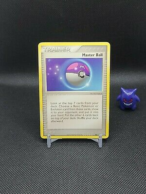 Pokemon - Master Ball 99/113 Ex Delta Species Moderate Play (3 available)