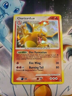 Charizard 1/99 Platinum Arceus Cracked Ice Holo Rare Pokemon LP