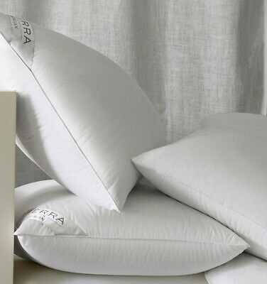 Sferra Cardigan European White Goose Down Pillows With 800+ High Fill Power