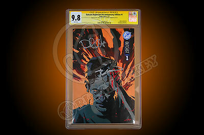 Sdcc Outcast #1 Skybound Anniversary - Cgc 9.8 Signed By Kirkman And  Azaceta