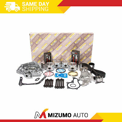 Overhaul Engine Rebuild Kit (w/ Sensor Port) Fit 93-97 Geo Prizm Toyota 1.6 4afe