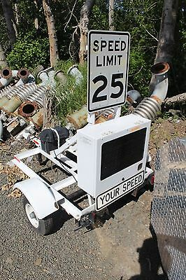 Radar Speed Sign Trailer Mounted Ru2
