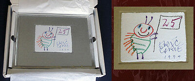 Eric Carle Signed & Numbered Limited Ed - Very Hungry Caterpillar, W/ Sketch!