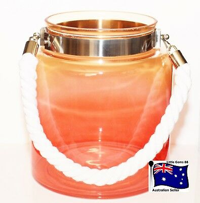 Yankee Candle Into Port Sunset View Jar Holder ~ Dress Up Your Large Jars
