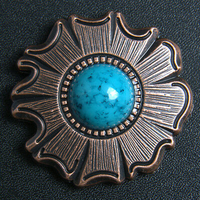 Conchos HILASON 1.5 IN. TURQUOISE STONE