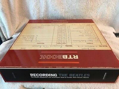 recording the beatles: the studio equipment and techniques mint in box first
