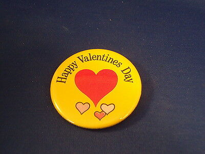 """""""happy Valentines Day""""  Lot Of 100 Buttons Pins  Love  Fundraisers Store Resale"""