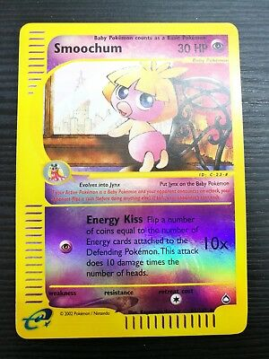 POKEMON - Smoochum 61/147 - Reverse Holo - Aquapolis - ENGLISH #NSF3